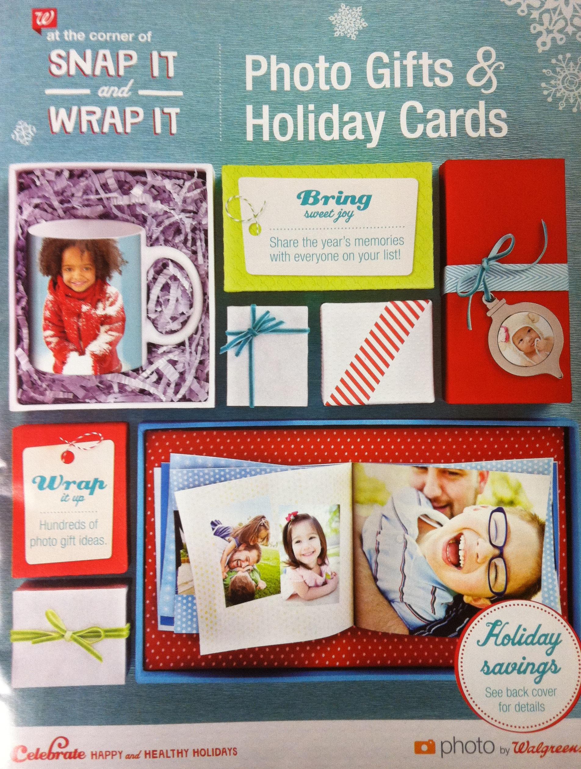 Walgreens Christmas Card.Walgreens Coupons Christmas Cards Coupon Class Flyer